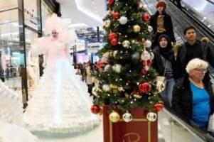 Weihnachtsshopping: Berlin am zweiten Advent im Einkaufsrausch