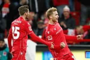 Bundesliga: Doppelpacker Andersson beschert Union drei Punkte
