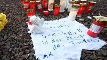 Gewalttat in Augsburg: Schock nach tödlicher Attacke