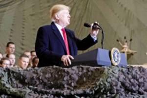 Afghanistan: Donald Trump lässt wieder mit den Taliban verhandeln