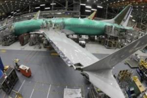 Defekte Teile in 737-Jets: Boeing soll Millionenstrafe in den USA zahlen