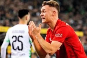 Niederlage gegen Gladbach: Bayern-Rückschläge auch unter Flick - Kimmich verzweifelt