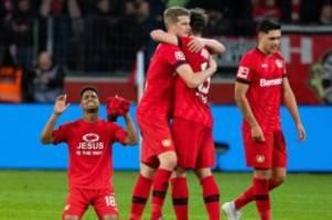 Völler: Haben einen Lauf: Leverkusen wittert Chance in der Champions League