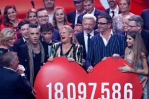 """ZDF-Spendengala: So emotional war die Spendengala """"Ein Herz für Kinder"""""""