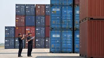 handelskrieg bremst ausfuhren: chinas exporte in die usa fallen stark