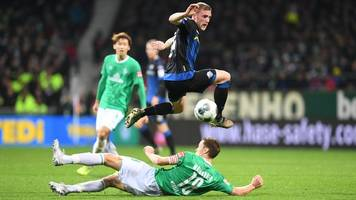 14. Spieltag - Spätes 0:1 gegen den SC Paderborn - Bremer Krise hält an