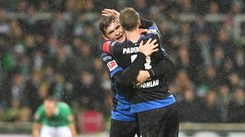 Bremer Krise hält an - Spätes 1:0 des SCPaderborn schockt Werder