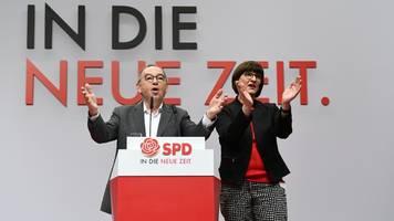 Union will schnelles Treffen mit neuem SPD-Duo