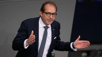 spd-parteitag: dobrindt kritisiert spd-forderungen als linksträumereien