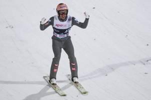 Kraft gewinnt Skisprung-Weltcup in Russland