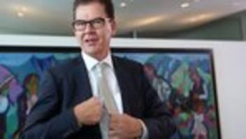 klimawandel: gerd müller kündigt mehr geld für projekte gegen klimarisiken an