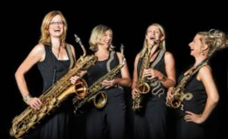 veranstaltung: saxofonensemble sistergold will in bad oldesloe glänzen