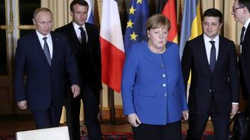 Gibt es eine Friedenslösung?: Bewegung im Ukraine-Konflikt - Gipfel mit Merkel und Macron
