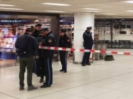 Hauptbahnhof München: Messerangriff auf Polizisten: Verdächtiger in Psychiatrie