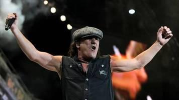 Brian Johnson: Der Sänger soll wieder mit AC/DC arbeiten
