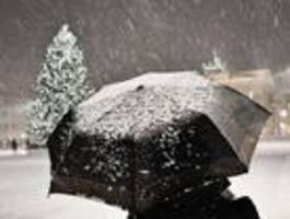 Erster Schnee zum Wochenende möglich