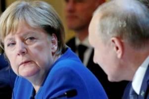 Mord-Ermittlungen: Putin kündigt Ausweisung deutscher Diplomaten an