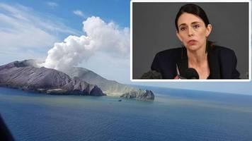 8 Menschen gelten als vermisst: Nach Vulkanausbruch in Neuseeland: Keine Hoffnung mehr auf Überlebende