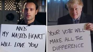 Wahlkampf: Boris Johnson versucht es auf die romantische Tour: Wählerfang im Stile von Tatsächlich ... Liebe