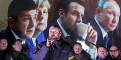 Nach dem Ukraine-Gipfel in Paris: Vielen gefällt Selenskis Stil