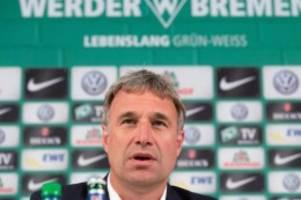 Fußball: Polizeikosten: Werder will vorerst nicht zahlen