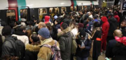 grossstreik in frankreich: streik legt erneut verkehr in paris lahm