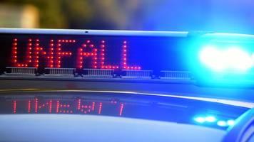 A96 in Richtung München nach drei Unfällen gesperrt