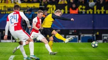 Champions League - Schützenhilfe von Barca: BVB zittert sich ins Achtelfinale