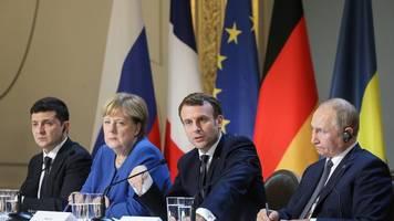 Nach langen Debatten: Macron sieht Fortschritte nach Ukraine-Gipfel in Paris
