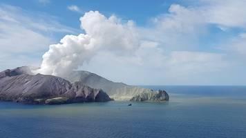 Viele tote Urlauber: Neuseeländische Polizei ermittelt nach Vulkanausbruch