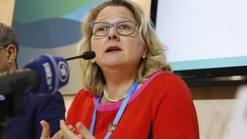 UN-Klimakonferenz: Schulze lobt Deutschland bei Klimakrise – und verspricht Millionen