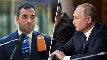 Wladimir Putin: Aussage zu ermordetem Georgier –  FDP übt scharfe Kritik