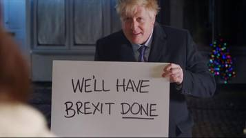 Boris Johnson spielt berühmte Szene aus Tatsächlich Liebe nach