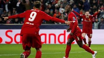 Champions League: Doppelschlag bringt Klopps FC Liverpool ins Achtelfinale