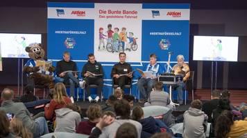 hertha und aktion mensch: inklusive lesung im olympiastadion