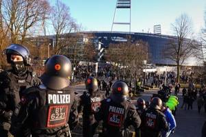 Polizeikosten: Werder will vorerst nicht zahlen