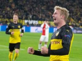 Champions League: BVB zittert sich ins Achtelfinale