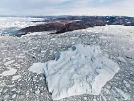 Neue Studie zum Eisverlust: Grönlands Eisschild schmilzt schneller