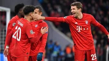 Champions League: Mit Rekord ins Achtelfinale: Bayern München gewinnt alle Gruppenspiele