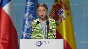 Video: Greta Thunberg rechnet mit Politikern ab