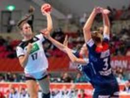 Deutsche Handballerinnen verpassen das WM-Halbfinale
