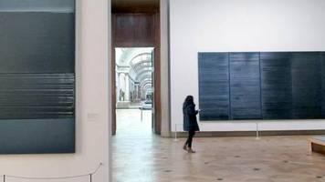 Im Louvre: Paris feiert Pierre Soulages zum 100. Geburtstag