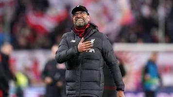Champions League: Klopp sagt «Sorry» nach Liverpools Sieg