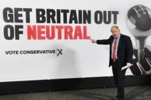 johnson-sieg nicht sicher: umfrage zur wahl in großbritannien: labour holt auf