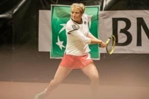 tennis: die leidenszeit von sophia intert hat ein ende