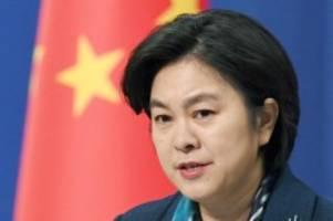 wegen us-blockade: china sieht bisher schwersten schlag gegen wto