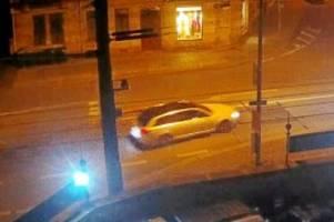 residenzschloss: grünes gewölbe: mit diesem auto flüchteten die einbrecher