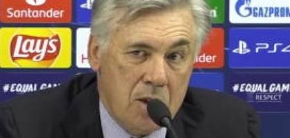 Die letzten Worte von Carlo Ancelotti im Amt