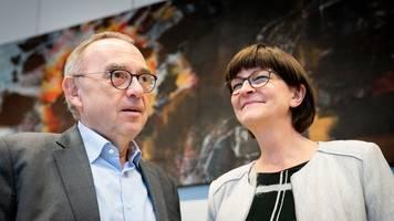 Kramp-Karrenbauer und Söder treffen sich mit SPD-Chefs