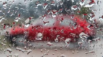 Regen,  Schnee und teils Glatteis in Hessen